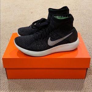 Nike Black Lunar Epic Hi Flyknit 2